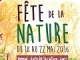 Fête de la nature - Week-end du 21 et 22 mai